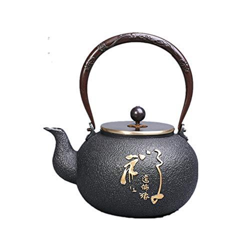 LALABIT Tetera Caldera de té Pot, manija de Cobre Puro, Campana Anti-Rust...