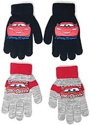 Set di 2 guanti per bambini Cars Disney 3 colori TU (4 a 8 anni)