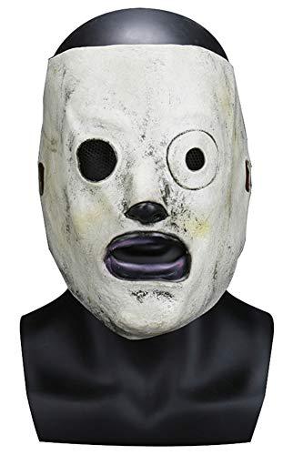 tianxinxishop Mascara de Miedo Horror de Halloween Disfraz de Cosplay de Banda de Heavy Metal Mascara de Club 58cm-62cm