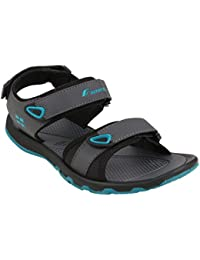 3050307c4 Fsports Men s Grey Turquoise Blue Colour Ocean Series Synthetic Casual  Sandal 10UK