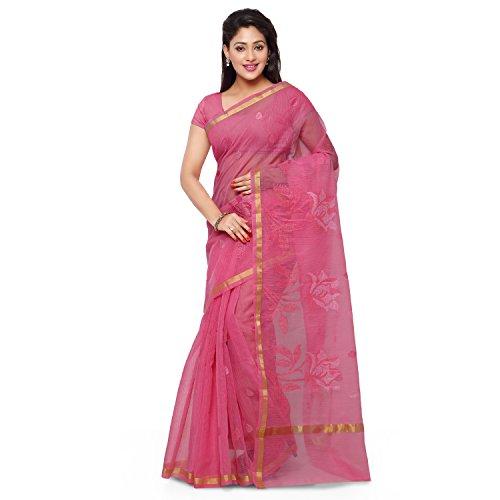 Rajnandini Cotton Saree (Joplsrs1081E_Baby Pink)