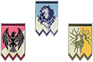 Coslive Fire Emblem Badges Pin Set for Three Houses Costume Accessories