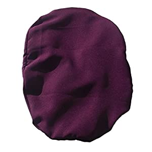 Simple Stoma Cover Ostomy Bag Cover Softtouch Aubergine – für Salts (TM) Confidence® Be