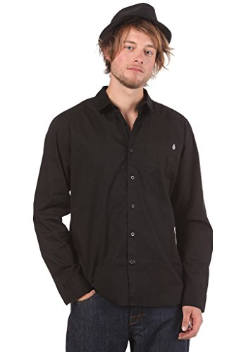 Volcom -  Camicia Casual  - Uomo nero s