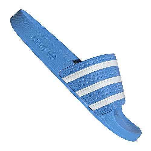 adidas Adilette (hellblau/weiß) - 38 EUR · 5 UK Signature-slip-ons