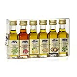 Italienne huile d'olive extra vierge aromatisée - 6 bouteilles x 18 ml
