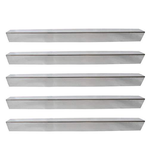 Onlyfire Gas Grill Ersatz Edelstahl Flavorizer Bars/Heizplatte/Hitzeschild für Weber Genesis 300 Serie Grill (Side-Panel), Set von 5, 62,2 cm x 6,1 cm x 6,1 cm
