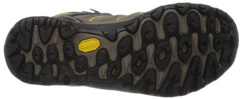 Merrell Cham 5 Mid Vent Gtx, Chaussures de randonnée montantes homme Beige - Mehrfarbig (BOULDER/PALE YELLOW)