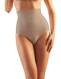 Farmacell Shape 600 High-waisted shaping control thong with flat tummy effect