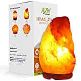 Allin Exporters Natural Himalayan Rock Salt Lamp with Wood Base for Lighting, Decoration