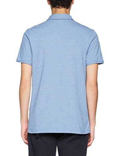 BOSS Casual Herren Poloshirt Proses Blau (Bright Blue 432)
