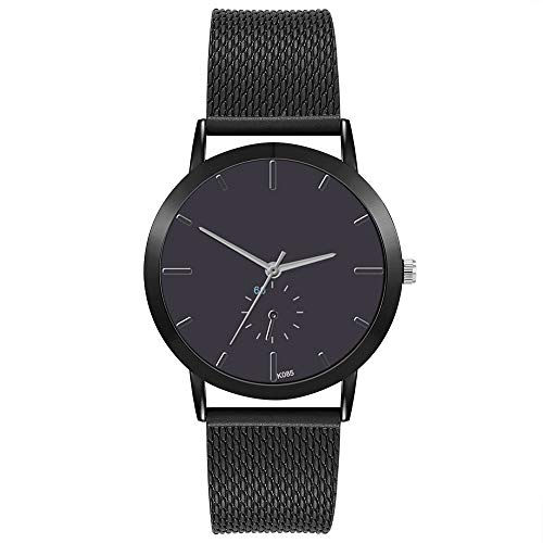 Suitray Frauen Armbanduhr,Mode Damen Armbanduhr Analoge Quarzuhr Beiläufig Uhr Geschenk,Runde Zifferblattgehäuse Edelstahlband Uhren