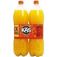Kas Naranja Bebida refrescante - 2 botellas X 2 L - Total: 4 L