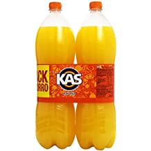 Kas Naranja refresco - Pack de 2 x 2 l - Total: 4000 ml