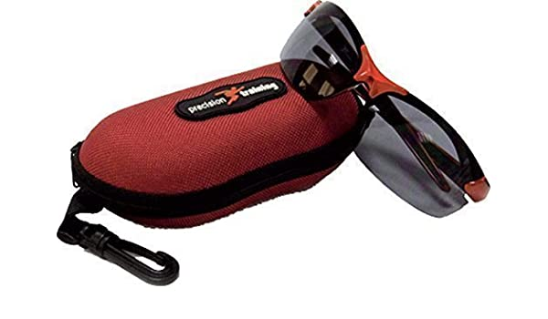 Precision Training Coruna Sonnenbrille Augenschutz Brille Rot/Schwarz Mit Etui - Neu fb8M0niMI