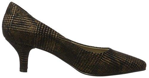 Noe Antwerpnancy Pump - Chaussures À Talons Dorés Pour Femmes (bronze)