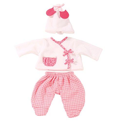 Götz 3402588 Babykombi Leo & Karo Gr. S - 3-teiliges Bekleidungsset für Babypuppen mit Einer Größe von 30 - 33 cm - bestehend aus Mütze, Jacke, Hose
