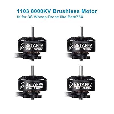 BETAFPV 4pcs 1103Motor 8000KV Brushless Motors for Beta75X FPV RacingDrone Micro Quadcopter Brushless Whoop Drone