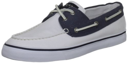 Sperry Top-Sider  Bahama 2-eye, Chaussures À lacets femme Blanc - White/Navy