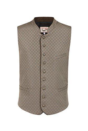 Michaelax-Fashion-Trade Stockerpoint - Herren Trachten Weste in verschiedenen Farben, Pino, Größe:48, Farbe:Taupe