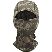 Pasamontañas OneTigris táctico de camuflaje para motocicleta / bicicleta / esquí / caza, AT-FG