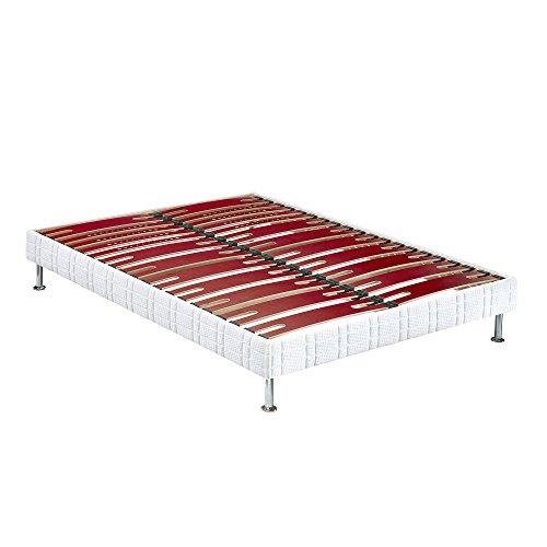 Sommier tapissier Bultex Confort Morphologique Bi-Lattes 160x190
