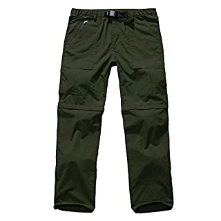 Jessie Kidden Men's Cargo Tactical Regular Trouser Army Combat Work Trousers Workwear Pants with 6 Pocket #6062 Army Green-42