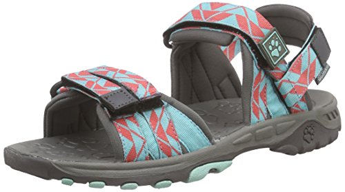 Jack Wolfskin GIRLS BAHIA, Mädchen Sport- & Outdoor Sandalen, Blau (pool blue 1820), 30 EU (11.5 Kinder UK)