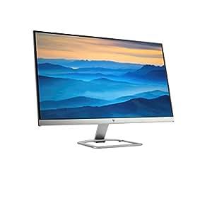 """HP 27er Monitor Full HD da 27"""", IPS, Retroilluminazione a LED, Risoluzione 1920x1080, Argento, Retro Bianco"""