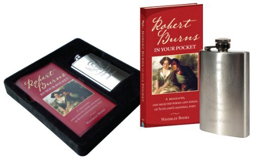 Robert Burns in Your Pocket: Book and Hip Flask (Gift) by Robert Burns (2012-01-16)