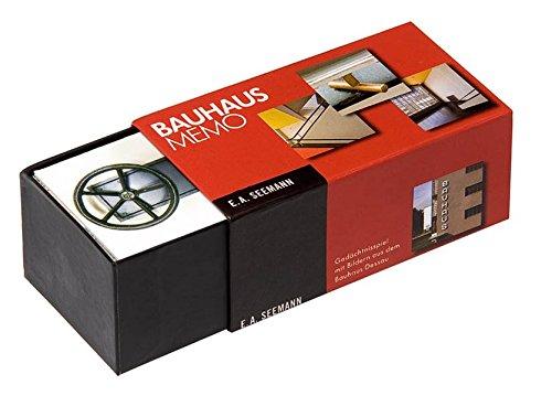 Bauhaus-Memo: Gedächtnisspiel mit Bildern aus dem Bauhaus Dessau