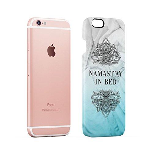 Free Spirit Turquoise Mandala Dünne Rückschale aus Hartplastik für iPhone 6 & iPhone 6s Handy Hülle Schutzhülle Slim Fit Case cover Namast'ay