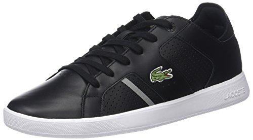 Lacoste Herren Novas Ct 118 1 SPM Sneaker Schwarz (Blk/Gry) 43 EU