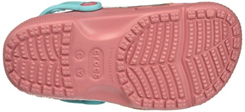 Crocs Funlabvaianaclg, Sabots Fille Rose (Blossom)