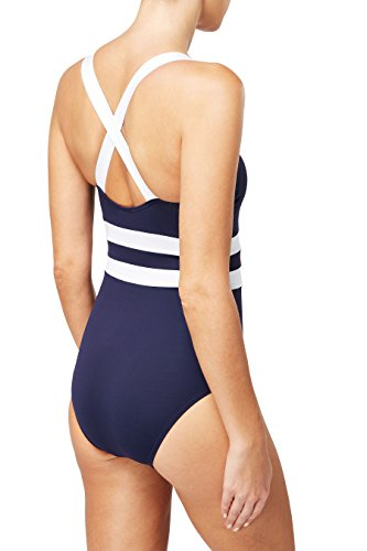 next Donna Costume Intero Per La Piscina Blu Navy