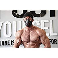 Sport Workout Training Mask Hypoxic Breathing Resistance Mask Fitness Running Mask Endurance Mask Achieve High Altitude Elevation Effects with 3 Level Air Flow Regulator