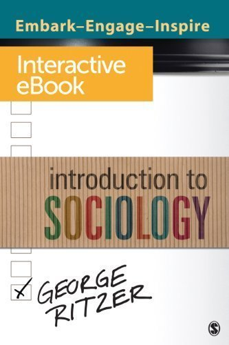 Introduction to Sociology: Interactive eBook Pmplt/Psc Edition by Ritzer, George published by SAGE Publications, Inc (2012)