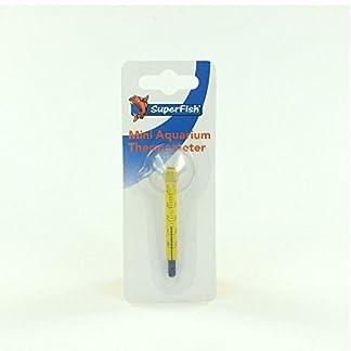 Superfish Mini Glass Aquarium Thermometer 7