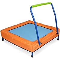 Newsky Newsky Folding Junior Mini Trampoline Bouncer with Handle and Carry Bag