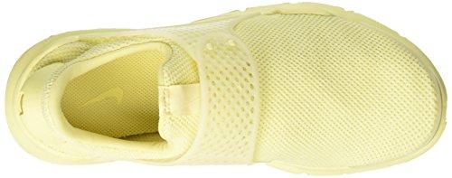 Nike Sock Dart Br, Scarpe da Ginnastica Uomo Giallo (Lemon Chiffon)