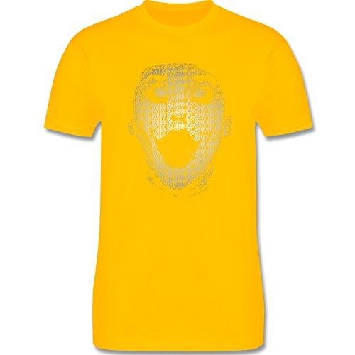 Comic Shirts - Jack Napier - Herren Premium T-Shirt Gelb