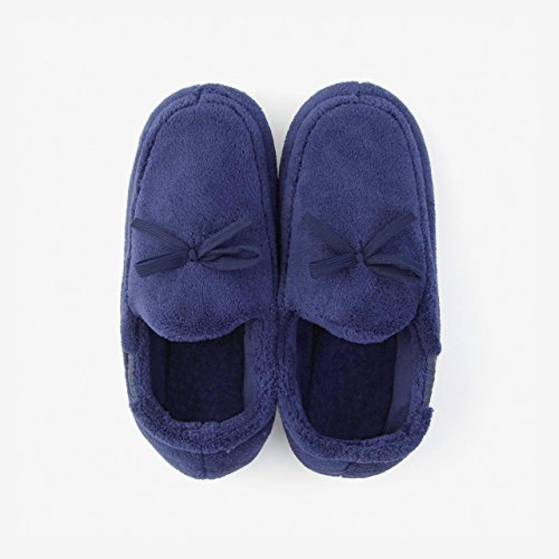 DogHaccd Zapatillas,Hogar cálido invierno paquete para parejas con zapatillas de algodón grueso antideslizante...