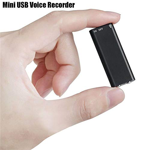 ACHICOO Mini Audio Recorder Voice Listening Device 96 Stunden 8GB Bug Electronic Listening Device