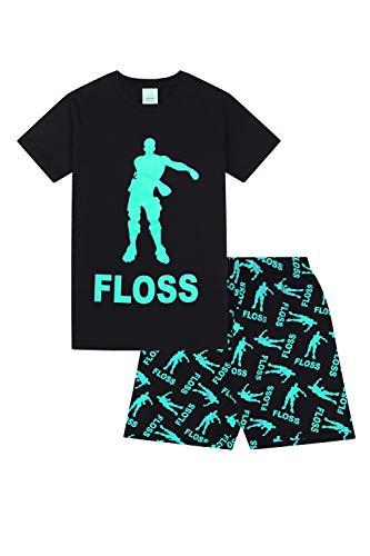 Floss Gaming Dance Short Jungen-Schlafanzug (13-14 Jahre 164cm)