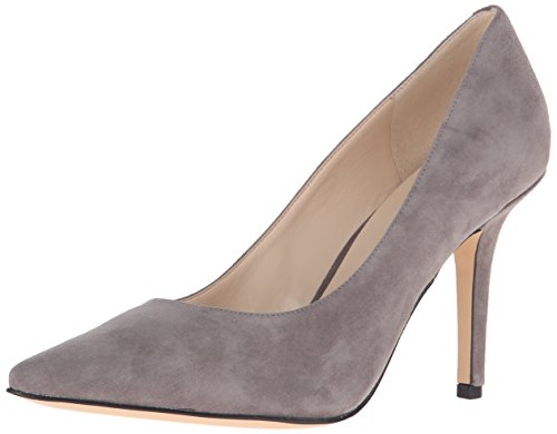 Pompa Nine West Jackpot Dress Suede Grey Kid
