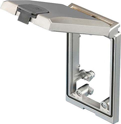 Preisvergleich Produktbild Rittal 2482.310 1Stück (S) Deckel aus Sicherheit Steckdosenabdeckung – Deckel für Steckdosen (grau,  1 Stück (S))