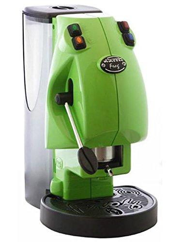 Nähmaschine Caffe 'Frog Revolution hellgrün Pads Karten 44mm