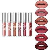 Subsky 6 PCS Matte Liquid Lipgloss, Rossetti Lunga Durata Impermeabile Professionale