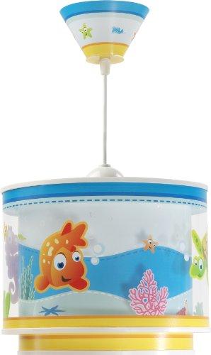 Aquarium Hängeleuchte Dalber 60332 Clownfisch Seepferdchen Schidkröte Lampe Kinder Zimmer