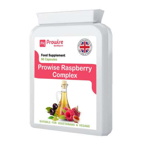 Prowise Raspberry Complex - 60 Capsules (Advance Formulation) | RASPBERRY FRUIT EXTRACT | GREEN TEA | CAYENNE POWDER | CAFFEINE | GREEN TEA EXTRACT | ACAI BERRY & APPLE CIDER VINEGAR